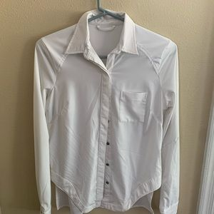 Official Lululemon Button Up Blouse! Size Small!
